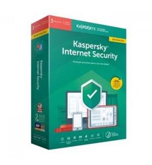 Kaspersky Internet Security 2019 3 users Renewal
