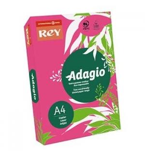 Papel Fotocopia Adagio(cd23) A4 80gr Fuchsia 1x500Fls