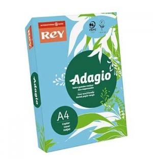 Papel Fotocopia Adagio(Cd48) A4 80gr Azul Claro 1x500Fls