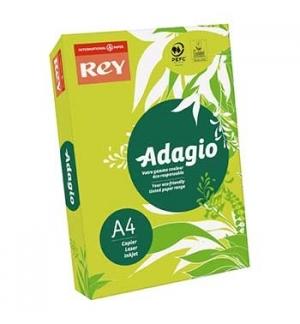 Papel Fotocopia Adagio(cd14)A4 80gr(Verde Fluoresc)1x500Fls