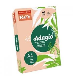 Papel Fotocopia Adagio(cd55) A4 80gr (Pessego) 1x500Fls