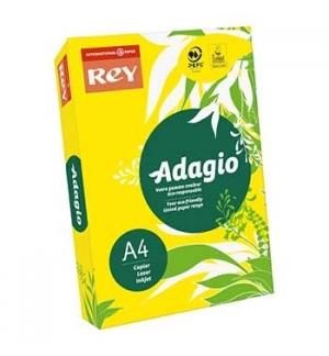 Papel Fotocopia Adagio(cd66)A4 80gr(Amarelo Intenso)1x500Fl