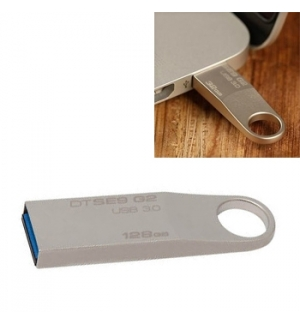Flash Drive 128GB Kingston DataTraveler SE9 Prata
