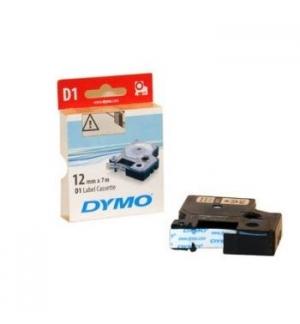 Fita Gravacao Dymo 12mmX7m Branco/Azul (45014)