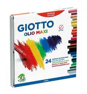 Lapis Pastel a Oleo Giotto Olio 24unid