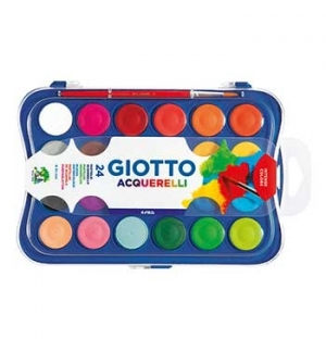 Aguarelas Giotto Cores Sortidas Cx 24