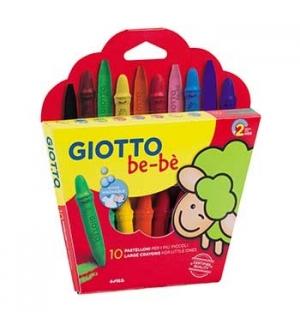 Lapis Cera Giotto Be-Be 10un + 1 Afia Lapis