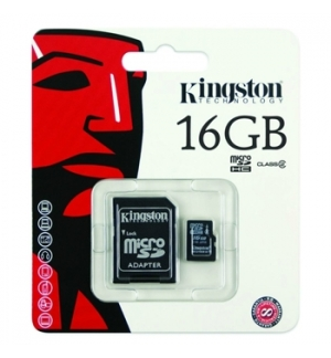 Cartao Memoria Kingston Micro SDHC 16Gb