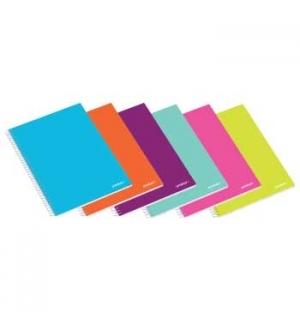 Caderno Espiral Ambar School A4 Pautado 80Fls