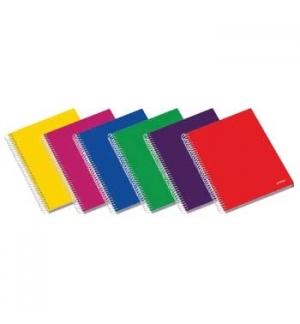 Caderno Espiral C/PP Ambar School A4 Pautado 70g 100Fls