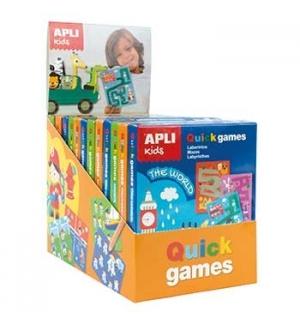Expositor Apli Kids Quick Games 3 Temas 12un