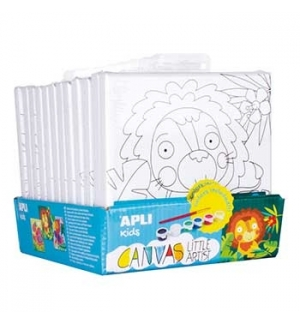 Expositor Apli Kids Little Artist 3 Desenhos 12 Telas