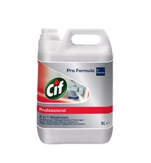 Detergente Desincrustante Cif PF 2in1 Casas de Banho 5L