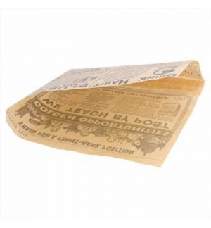 Papel Anti-Gordura Times (Burguer) 34g 16x165cm 500un