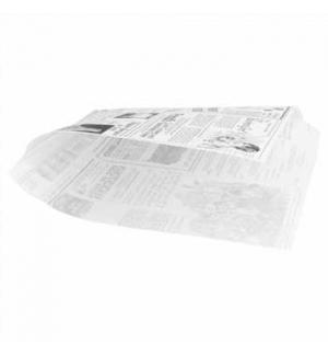 Papel Anti-Gordura Times P/B (Burguer) 34g 16x165cm 500un