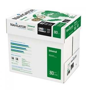 Papel Fotocopia A4 80gr Navigator (Universal) 5x500 Folhas