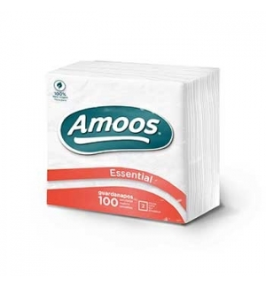 Guardanapos 22x22cm Amoos 2Fls (Maco100) (T622002.4)