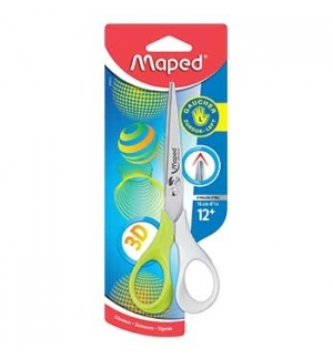 Tesoura 16cm Maped Shape 3D p/Esquerdinos - 1un