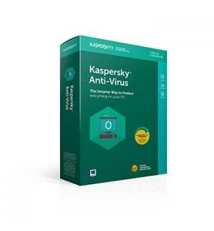 KASPERSKY Anti-Virus 2020 3Users1Ano RW
