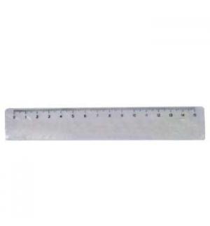 Regua Plastico 15cm - 1un