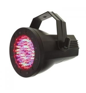 Led Par36 ABS LEDs 76x5mm 4 canais DMX