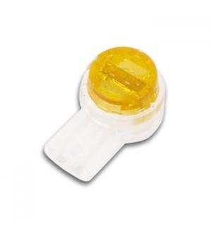 Conector de pressao UP2A,Cor laranja 2 fios,0.4-0.8mm 50un