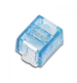 Conector de pressao UY2, Cor Azul 3 fios, 0.4-0.8mm Cx100