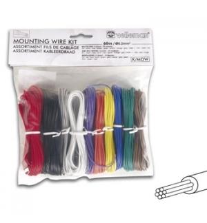 Kit de cabos multifilares com seccao de .2mm para electronic