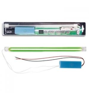 Lampada fluorescente de catodo frio, cor verde + fonte de al
