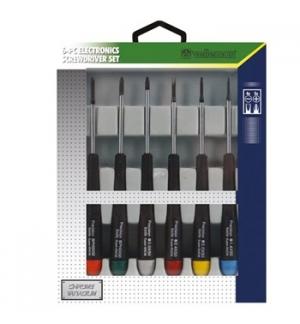 Set de 6 chaves de parafusos para electronica e informatica