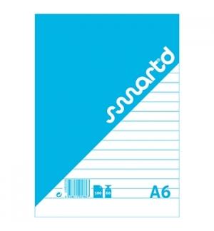 Bloco Notas SmartD A6 Pautado, 60gr, 100 Folhas