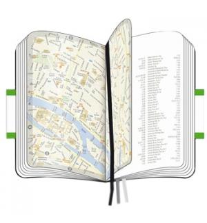 Bloco Notas Mapa Cidade Lisboa Moleskine Clássico