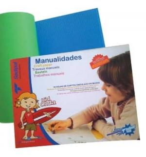 Trabalhos Manuais (Sadipal) Papel Ondulacolor 32x44cm 10 Fl