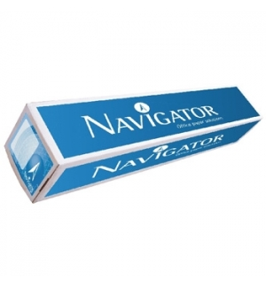 Papel Plotter 90gr 625mmx50mts Navigator (Pack 1 Rolo)