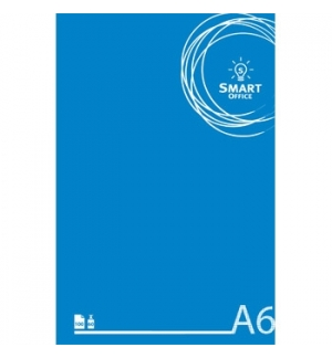 Bloco Notas Smart Office A6 Quadriculado, 60gr, 100 Folhas