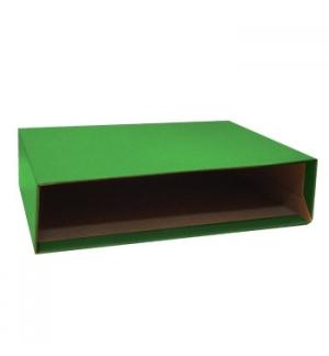 Caixa Cartao Micro p/Pasta Arquivo 200AC 350x290 L80 Verde