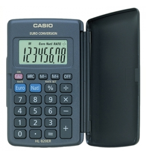Calculadora de Bolso Casio HL820VER 8 Digitos