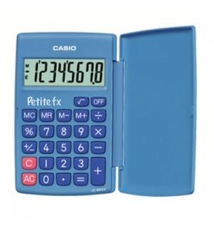 Calculadora de Bolso Casio LC401LV Azul 8 Digitos