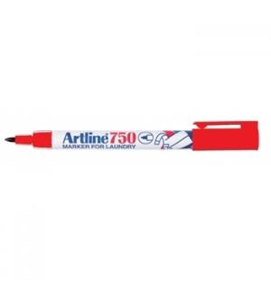 Marcador Tecidos Artline 750 0,7mm Vermelho-1 un
