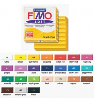 Pasta de modelar FIMO Soft (62) Lavanda 56grs