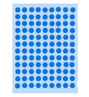 Etiquetas Redondas 08mm Azul Claro Herma1843 540un