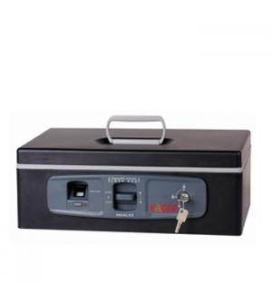 Cofre Eletronico 375x270x140 Eagle (Finger Print) Preto