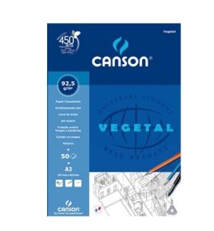 Papel Vegetal Canson A3 90gr 50 Folhas