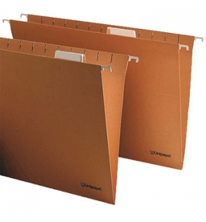 Capa Suspender c/Visor Kraft 400x240mm Folio Prolongado - 1u