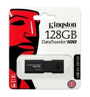 Pen Drive KINGSTON 128GB DataTraveler USB 3.0