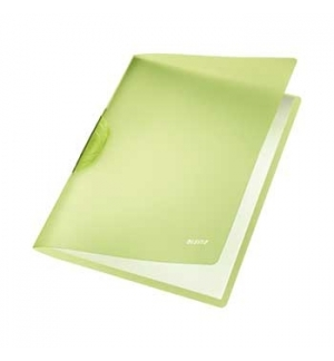 Classificador Clip Lateral Leitz 4176 Verde - 1un