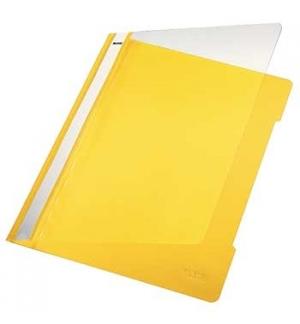 Classificador Plastico Capa Transp. Leitz 4191 Amarelo 25 un