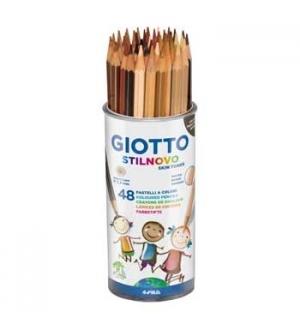Lapis Cor 18cm Giotto Stilnovo Skin Tones Copo 48un