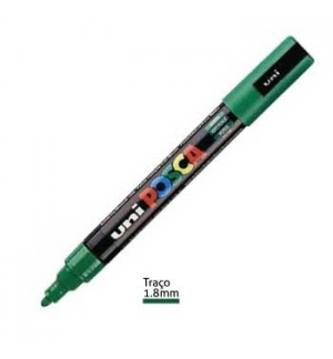 Marcador Uniball Posca PC5M 1,8mm Verde -1un