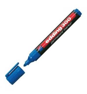 Marcadores Medio Edding 300 Azul 1un